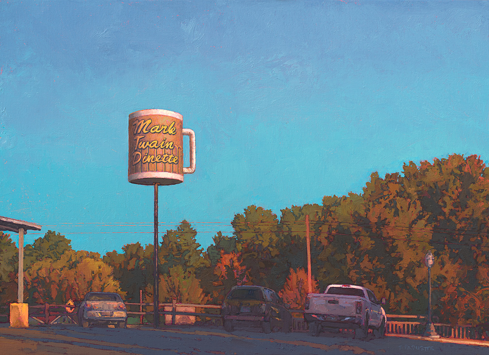 """""""Kitsch Stop"""" Hannibal, MO, oil painting"""