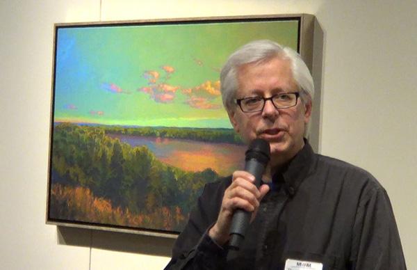 Links to YouTube video of Minnesota Marine Art Museum gallery talk