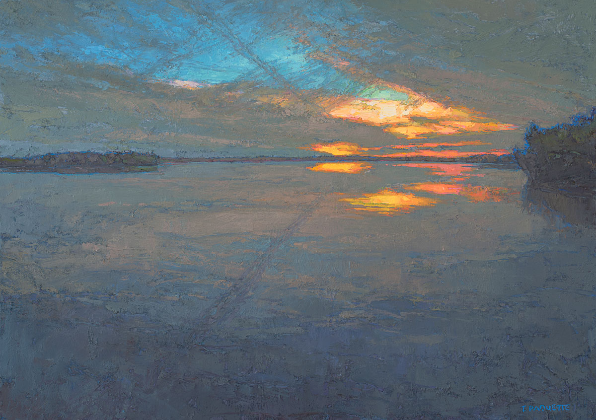 oil painting, Thomas Paquette